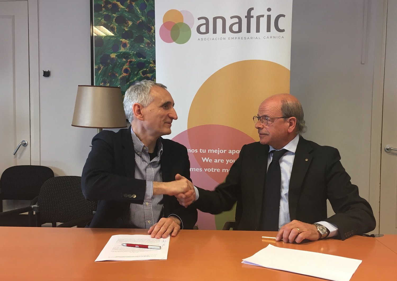 Anafric And The IRTA Will Work Together In Favour Of The Livestock And Meat Sectors