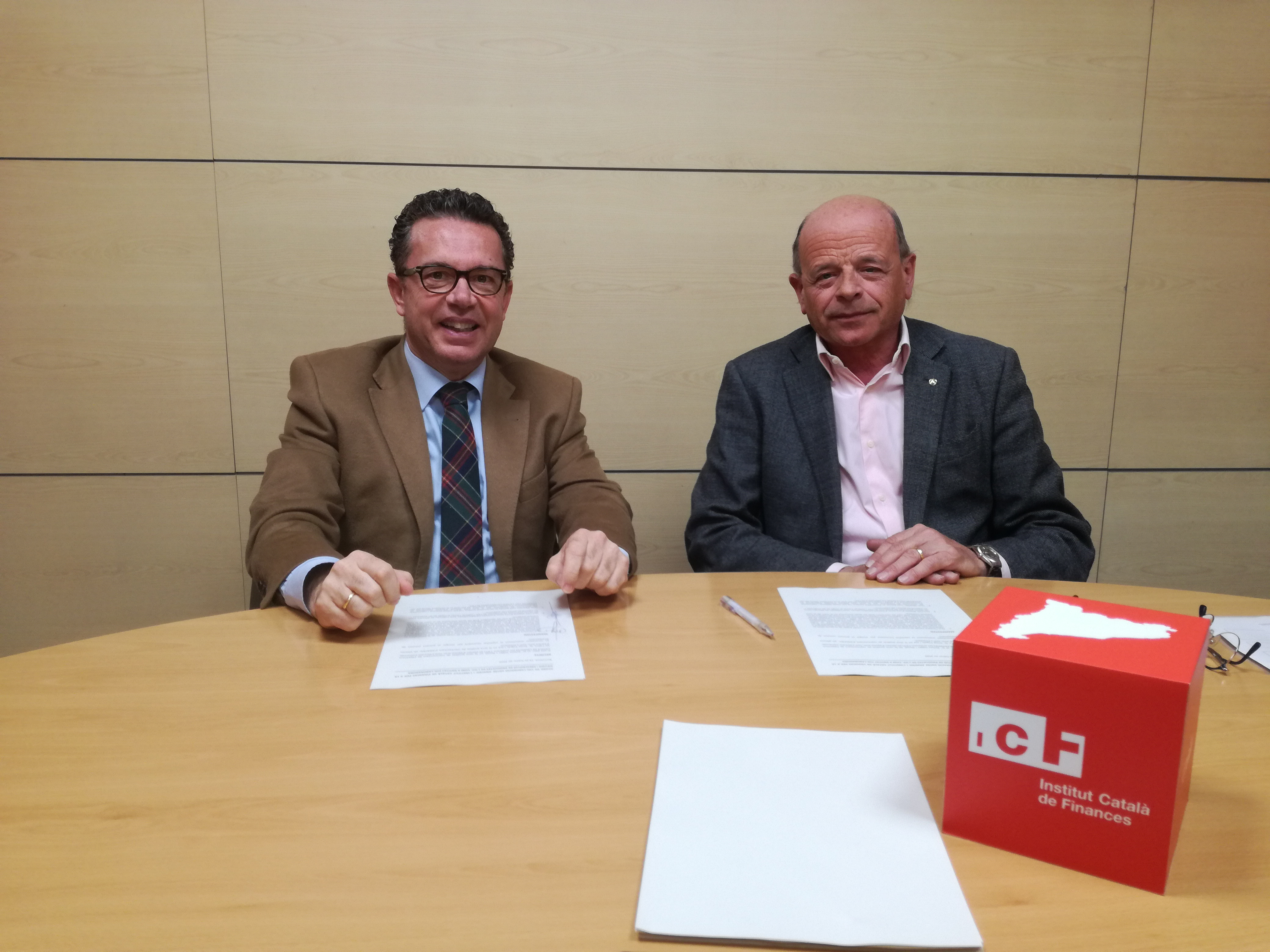 Collaboration Agreement Between Anafric And The Institut Català De Finances