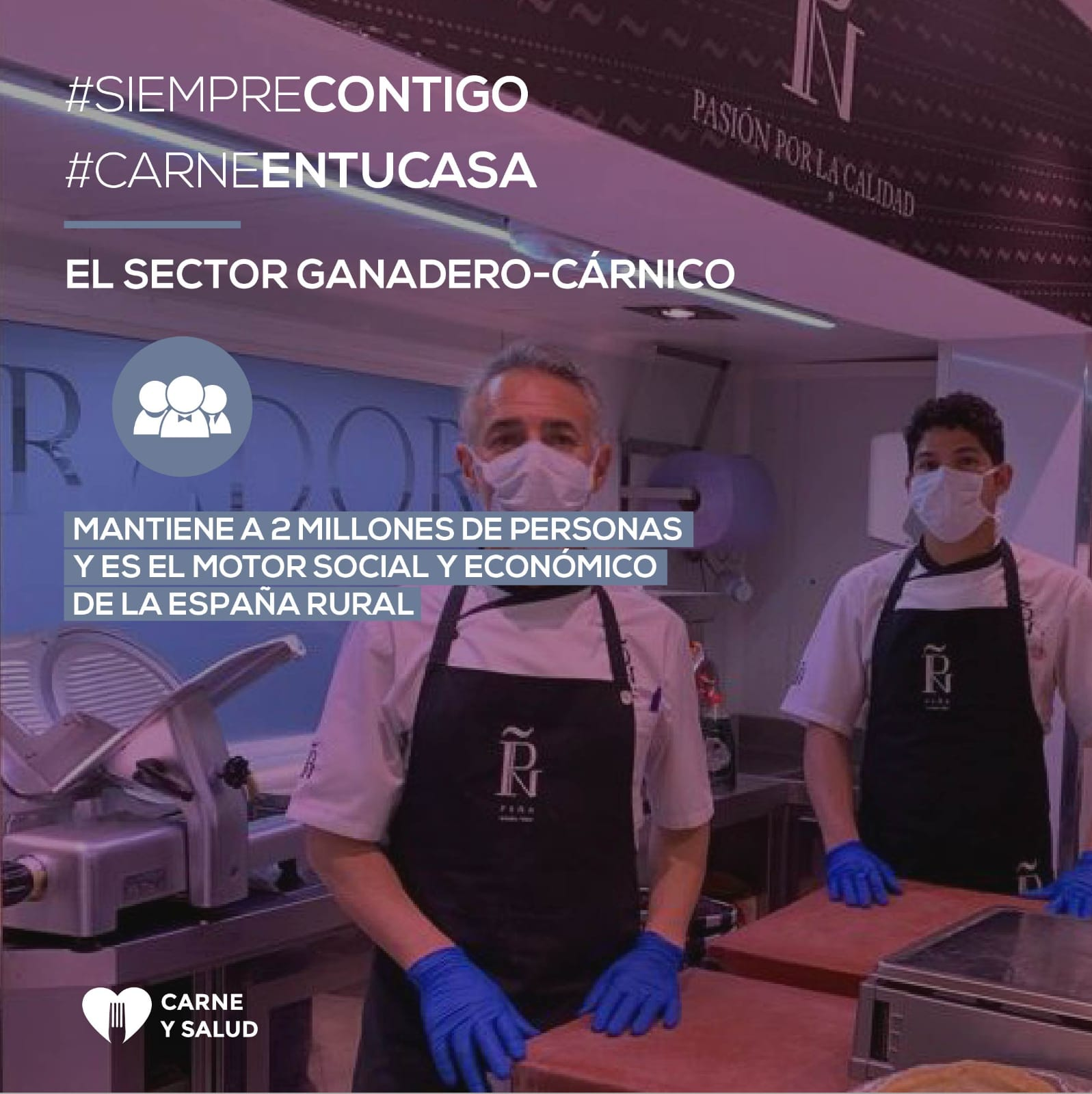 Carne Y Salut Platform. The Livestock-meat Sector, Economic Engine Of Rural Spain
