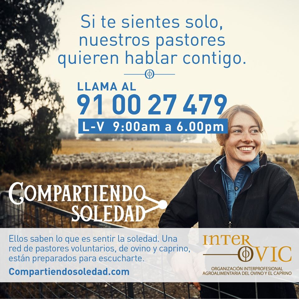 "INTEROVIC Reactivates ""Compartiendo Soledad"" To Give Telephone Support To Lonely People During Christmas"