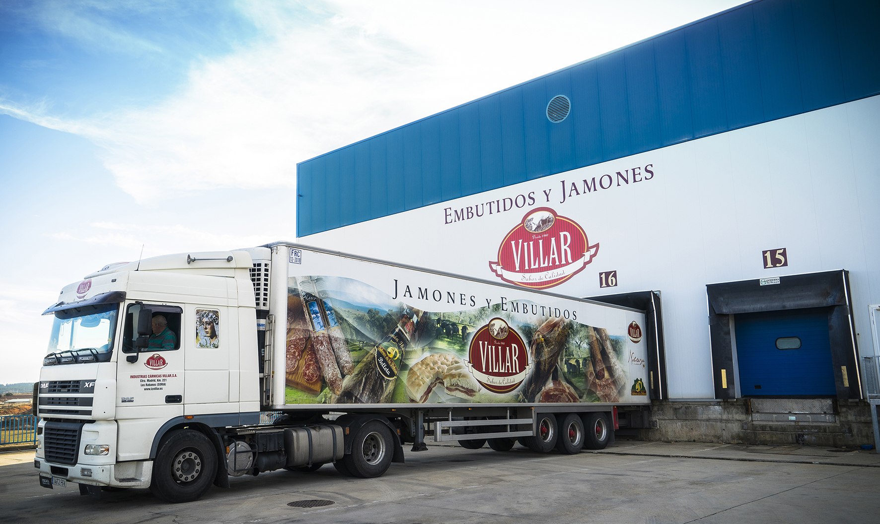 Industrias Cárnicas Villar Reinforces Its Industrial Structure Co-financed By The Junta De Castilla Y León, Through The European Agricultural Fund For Rural Development (EAFRD)